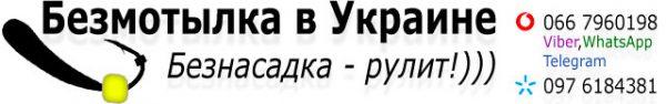Безмотылка в Украине Бузнасадка рулит логотип